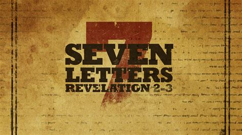 seven churches of revelation bible study