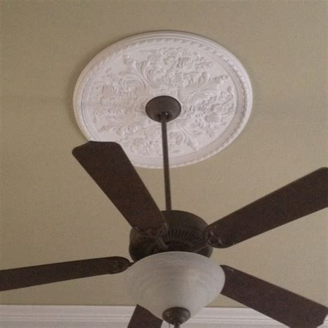 ceiling fan medallion for the home pinterest