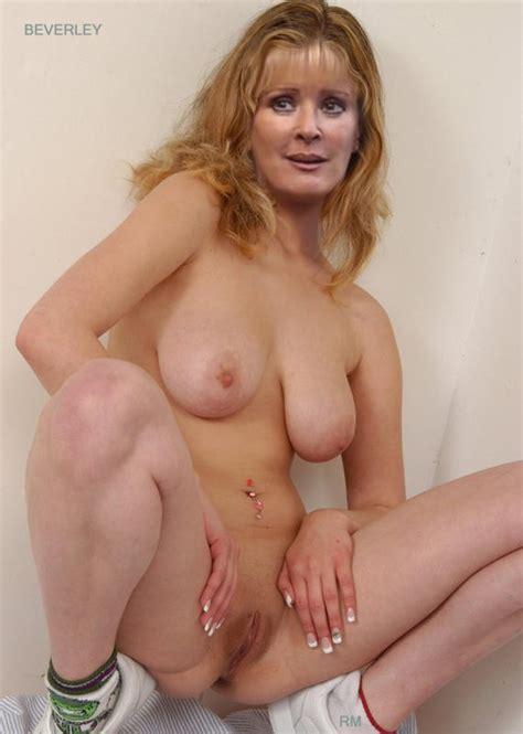 British Celebrity fakes Beverley Callard Page 1