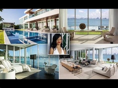 rihanna house music stylish miami beach house featured in rihanna music video could be yours youtube