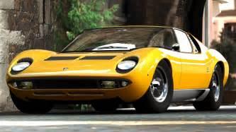 Lamborghini Miura Doors Open 1966 Lamborghini Miura The Supercar