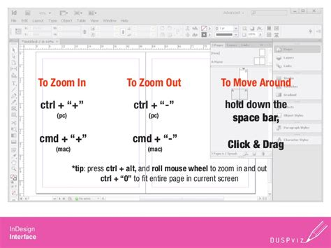 layout zoom out duspviz2012 indesign