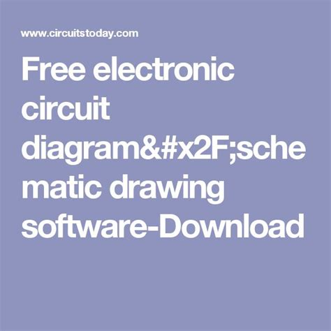 Electronic Drawing Software Free