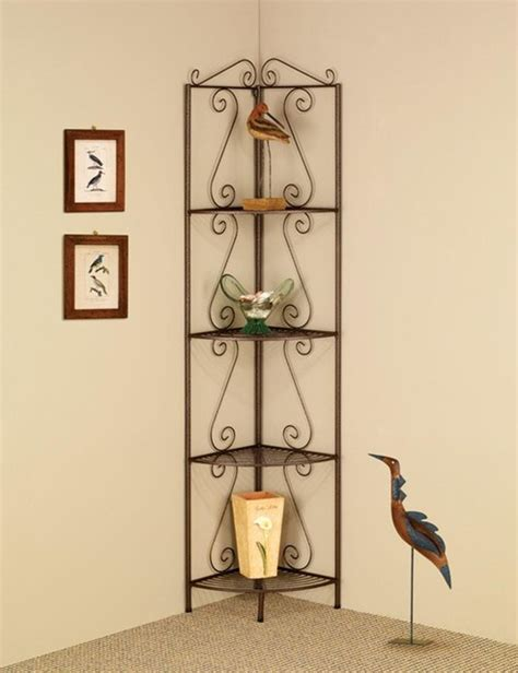 decorative corner shelves copper corner shelf with decorative scrolls traditional accent chests and cabinets other