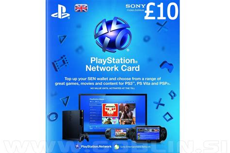 Psn Card Uk 10 Gbp Region 2 Ps4 Ps3 Ps Vita playstation network card 163 10 uk