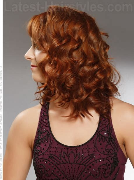medium haircuts naturally curly hair medium curly hairstyles