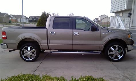 ford f150 dimensions 2005 ford f150 supercrew dimensions