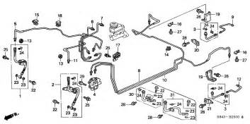 Brake System Honda Civic 99 Accord Lines Honda Tech