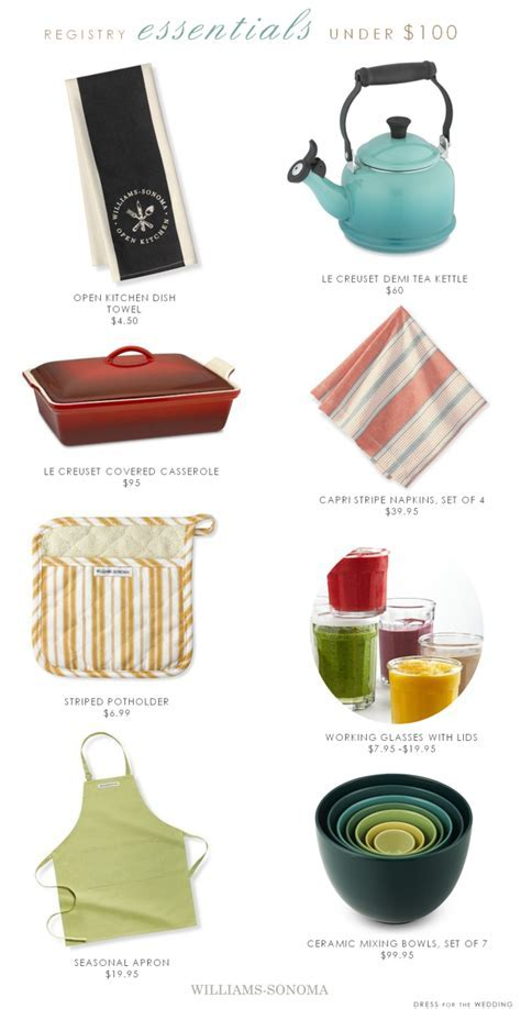 Wedding Registry Gifts under $100   Win a $5,000 Gift Card