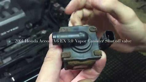p1457 honda accord 2000 2001 honda accord ex 3 0 v6 vapor canister shutoff valve