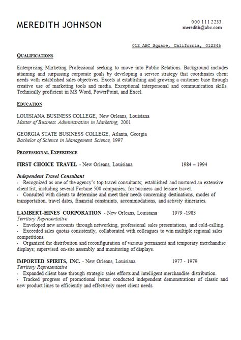 Statement For Resume best photos of resume opening statement exles resume