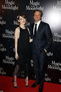 emma stone colin firth emma stone brings glamour to parisian red carpet with