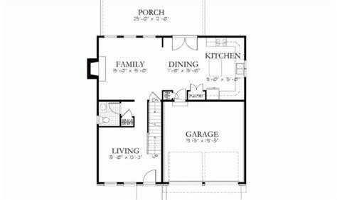 Simple House Blueprints Measurements Blueprint Small