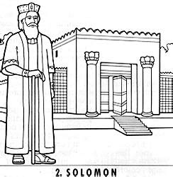 coloring page of king solomon s temple the lord commands his people to build temples friend