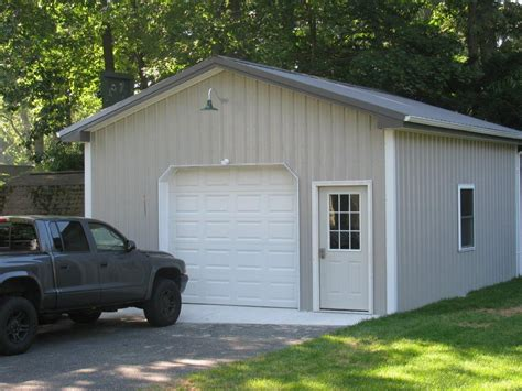 one car garage 1 car pole garage customer projects apm pole