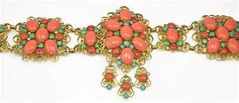 Jeweled Magnificence Kenneth by Vintage Kenneth Jeweled Belt Gem De La Gem