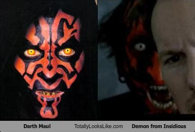 Paper One 70gr F4 By Loving Shop darth maul totally looks like from insidious