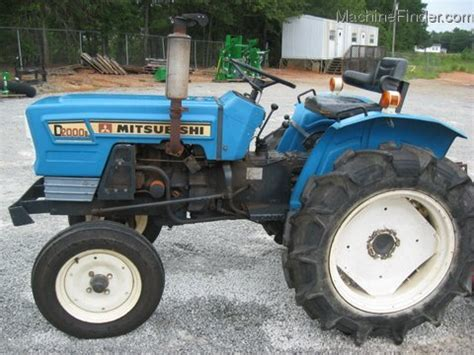 2002 mitsubishi d2000 tractors compact 1 40hp