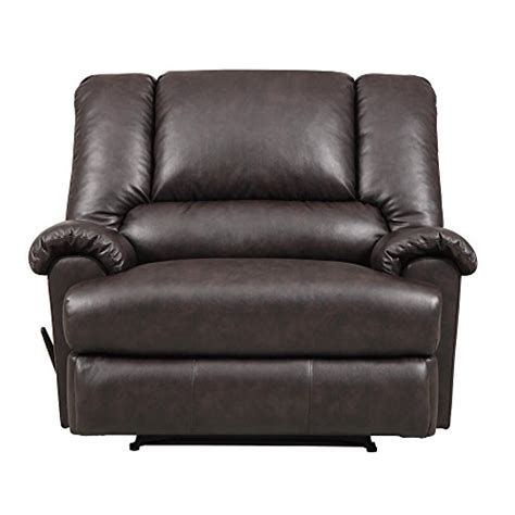 overstuffed sofas and chairs dorel living stanford faux leather overstuffed extra wide