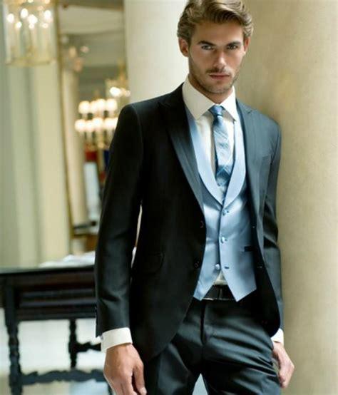 desain jas hitam model jas pengantin pria terbaru hitam situs pernikahan
