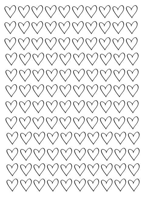 white heart pattern free heart pattern