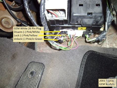 avital  pkall install  ford taurus