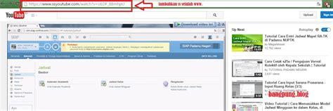 cara mendownload video di youtube dengan mudah youtube cara trik download di youtube dengan mudah tanpa softwere