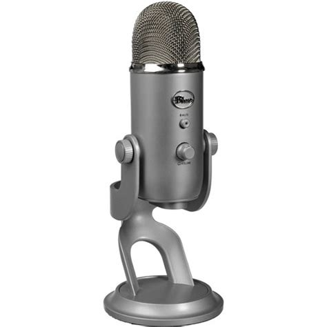 pattern blue yeti blue yeti usb microphone silver yeti b h photo video