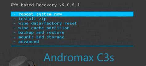 reset andromax c3 stockrom andromax c3s via cwm terminal android