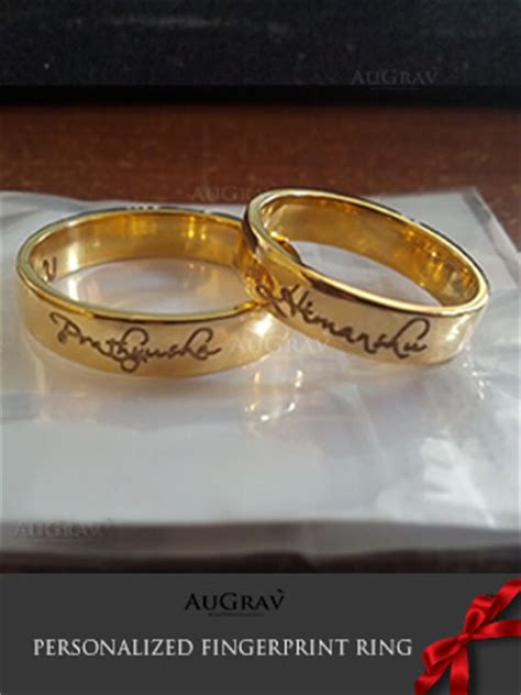 Wedding Bands With Names by Hindu Wedding Rings With Names Www Pixshark Images