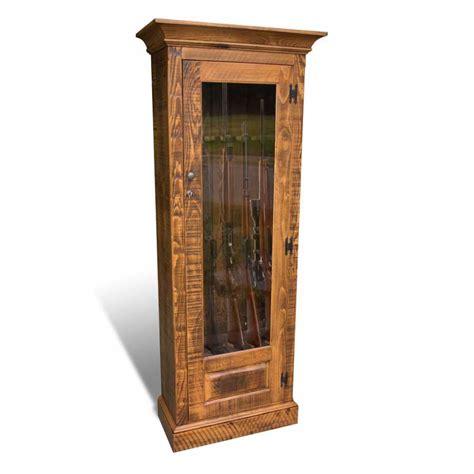 Single Door Cabinet Single Door Rustic Gun Cabinet
