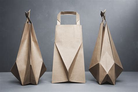 Fold Out Paper - design shimmer paper bag