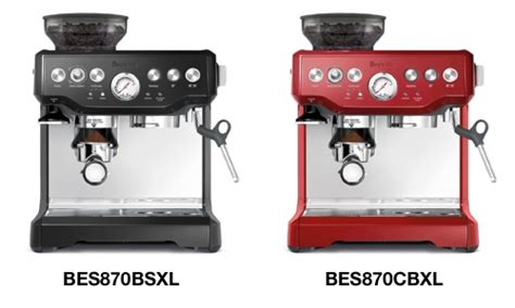What Is The Difference Between the Breville BES870XL and BES840XL Espresso Machines?   Super