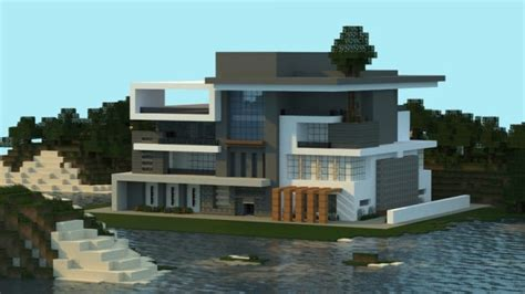 minecraft modern house ideas box modern house minecraft building inc