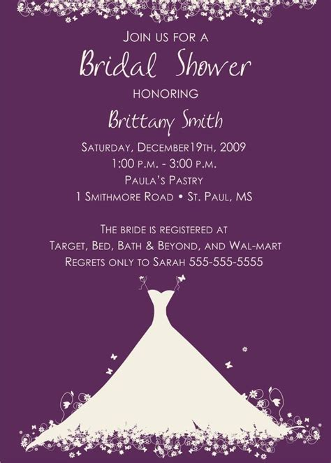 sle invitation wording for bridal shower 34 best images about wedding rsvp invitation card ideas
