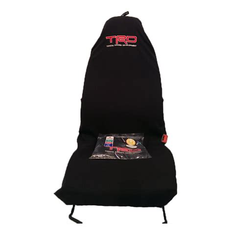 slip on seat covers car seat covers trd toyota racing slip on throw