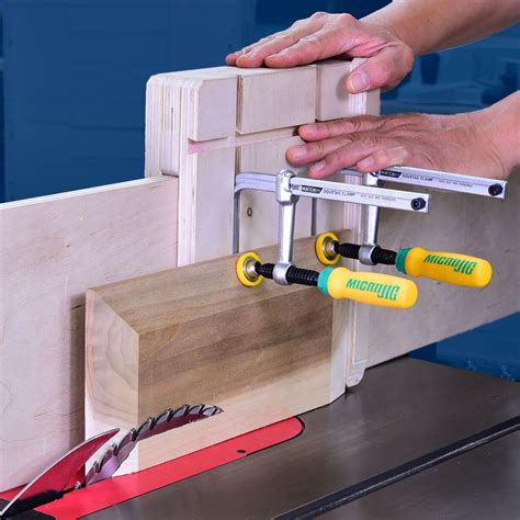 micro jig matchfit dovetail clamps pair rockler