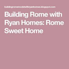 building rome with ryan homes rome sweet home floor plan pinterest the world s catalog of ideas