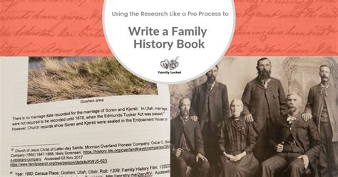 family history book update our family history
