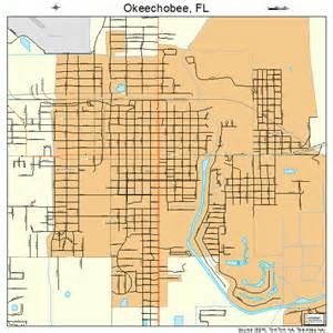 okeechobee florida map 1251200