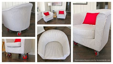 bucket chair slipcovers remodelaholic how to reupholster a tub chair