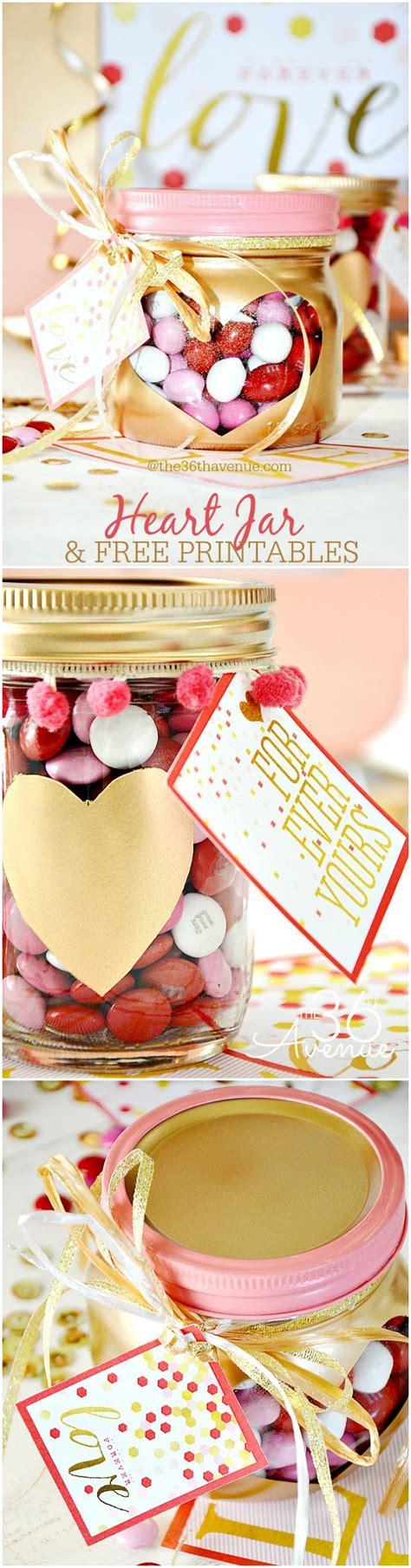 adorable valentine gift ideas the 36th avenue the 36th avenue valentine s day gift heart jars the