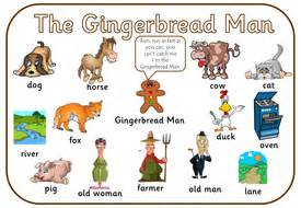 gingerbread man story printable pdf gingerbread man story pdf