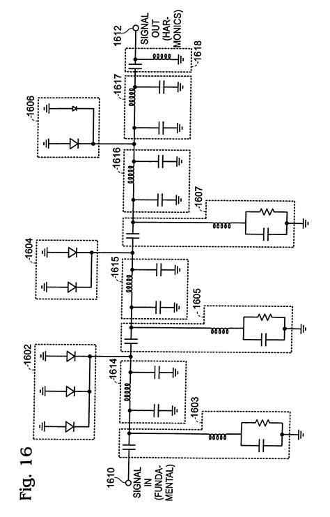 schottky diode pulse generator patent us20070273454 biased nonlinear transmission line comb generators patentsuche
