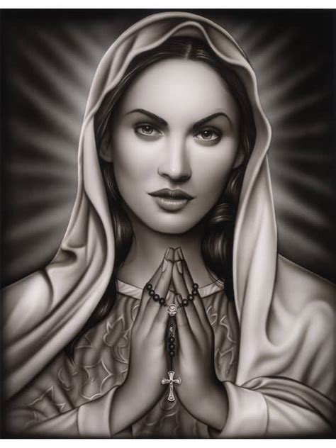 virgin mary tattoo black and grey black and grey praying virgin mary tattoo design