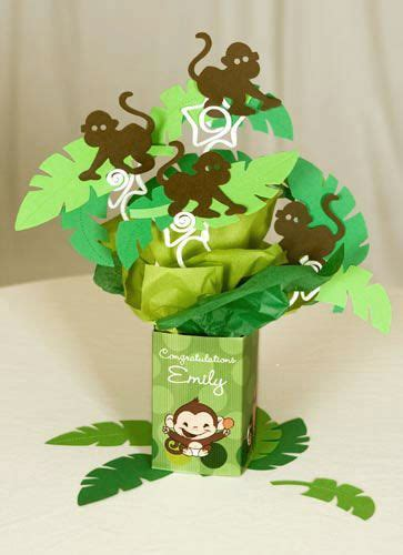 Monkey Themed Baby Shower Centerpieces by 25 Best Ideas About Monkey Centerpiece On
