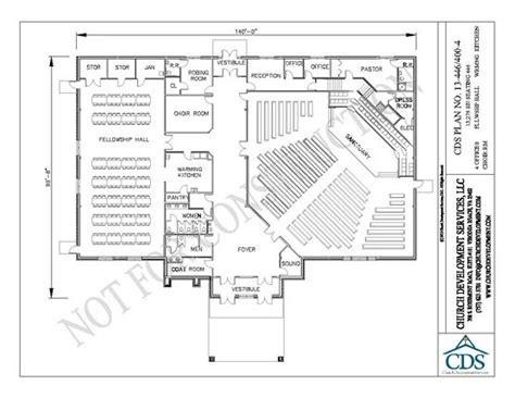 church fellowship hall floor plans eliminate the coat room move the bathrooms down and make