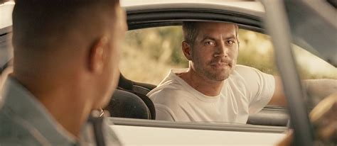 fast and furious end scene what was the original furious 7 ending like before paul
