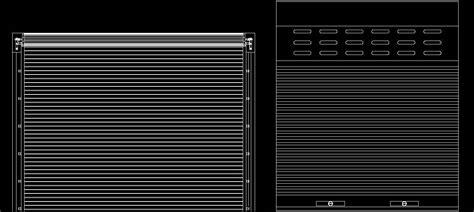 Standard Bedroom Door Size rolling shutter cad block plan n design