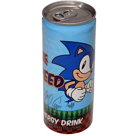 1 energy drink sonic the hedgehog speed energy drink 8 4 oz